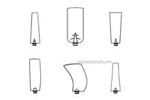 Крыльчатки Multi-wing малые диаметры от 220 мм до 762 мм.