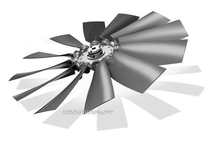 PressureMax профиль для охлаждения радиаторов/двигателей