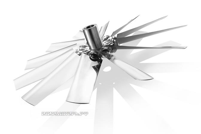 Крыльчатки Серия С лопасти аэродинамического профиля купить