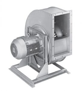 Вентилятор Nicotra TEM с прямым приводом