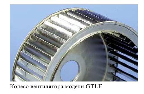 Внешний вид и исполнение Flaktwoods GTHB-3-045