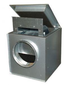 Вентилятор Systemair  KVK 200 центробежный шумоизолированный канальный