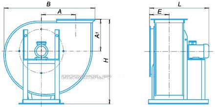 Типразмер, габариты, исполнение ВР 6-28 №8