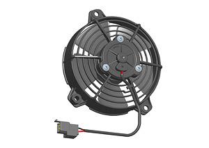 Параметры вентилятор Spal VA37 автомобильный. Продавец в России Spal VA37-B101-46S для охлаждение радиатора.
