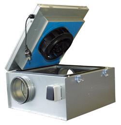 Вентилятор Systemair KVKE 125 шумоизолированный для круглых каналов