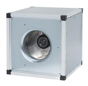 Вентилятор шумоизолированный Systemair MUB 025 315EC-A2 для квадратных каналов. Дилер и прямой поставщик в России MUB 025 315EC-A2.