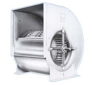Вентилятор Comefri TLZ 160 с загнутыми назад лопатками