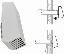 Systemair RVF 100 M для круглых каналов вытяжной