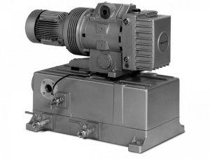 Пластинчато-роторный вакуумный насос с проточной смазкой V-VLB Elmo Rietschle