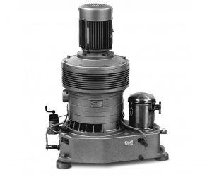 Пластинчато-роторный вакуумный насос с проточной смазкой Elmo Rietschle V-VLV-100-2